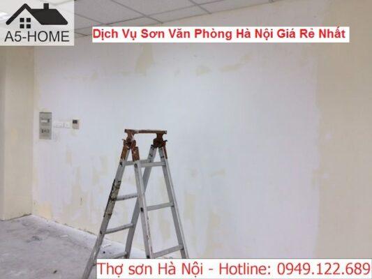 Dịch Vụ Sơn Văn Phòng Hà Nội Giá Rẻ Nhất